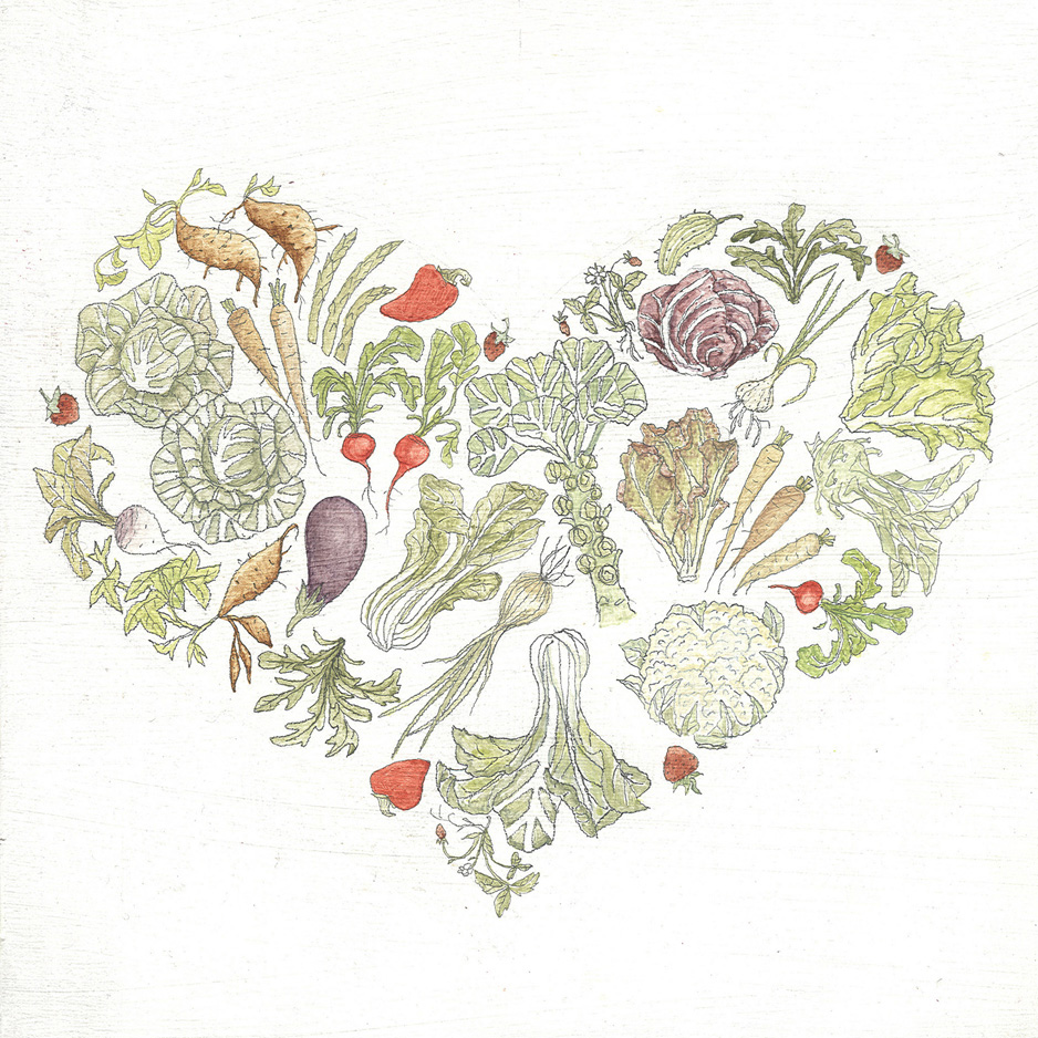 Veggie Heart © Mulysa Melco