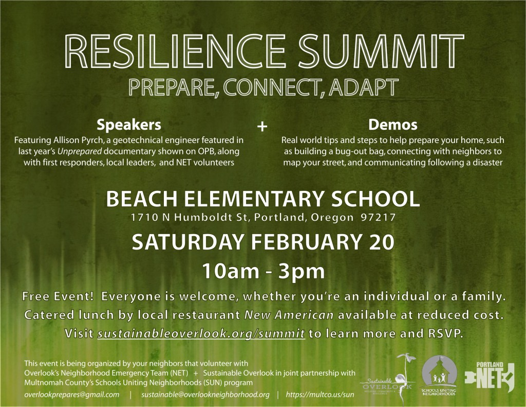 2016 Resilience Summit Advertisement